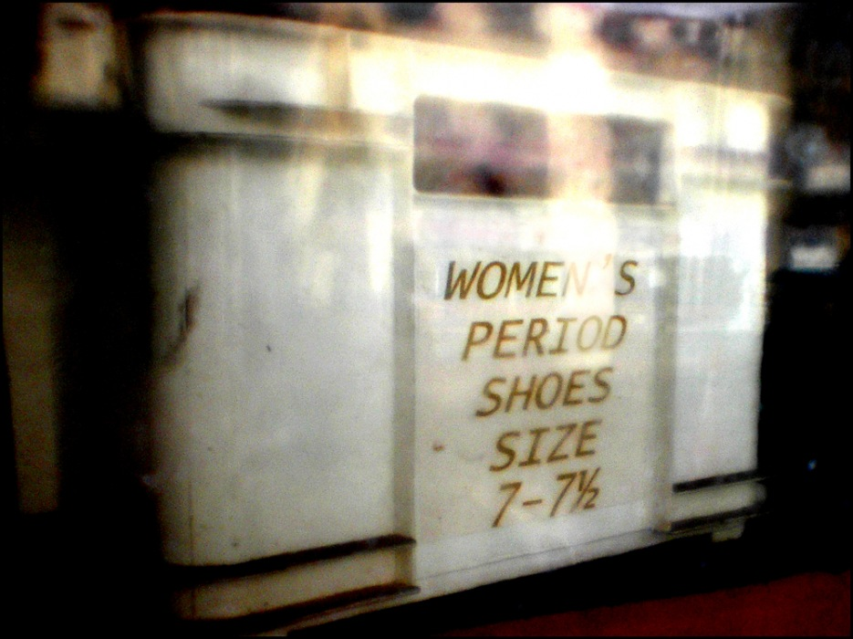 photoblog image Shoes eh!